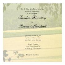 Summer Fields Wedding Invitations invitations