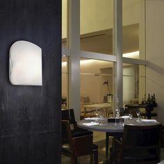 """JESCO Chyna 7-7/8"""" Frost Glass 1-Light Wall Sconce"""