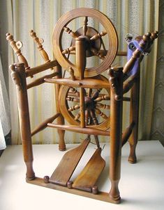 Spinning Jenny's TT chair wheel