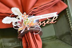 Pickled Paper Designs: Thanksgiving Inspirations Paper Clippings,Thankful for You,Inpired Blessed