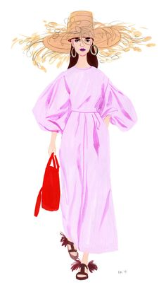 Queen Fashion, Fashion Art, Love Fashion, Fashion Clothes, Illustrations Vintage, Fashion Illustrations, Illustration Fashion, Fashion Sketchbook, Art Sketchbook