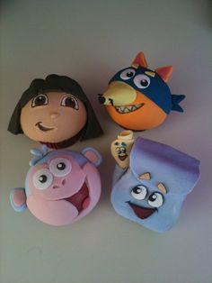 Dora, Boots, backpack and Swiper...Nick Jr.