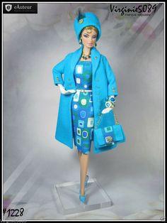 Tenue Outfit Accessoires Pour Fashion Royalty Barbie Silkstone Vintage 1228 | eBay