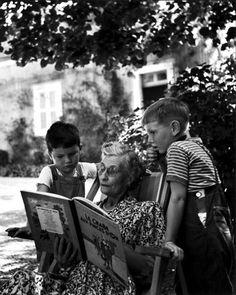 Janine Niepce - Vacances chez mamie, 1950.