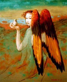 Hugo Urlacher Nace el 30 de Octubre de 1958 en Mataderos, Buenos Aires, Argentina. Es pintor Autodidacta de Raiz Estetica Cl...