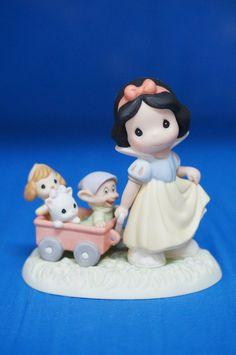 Snow White Dopey Heigh Ho Its Off To Play We Go Figurine Disney Precious Moments #PreciousMoments