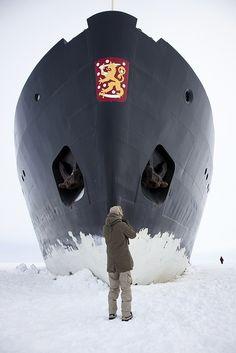 Ice breaker in Finland