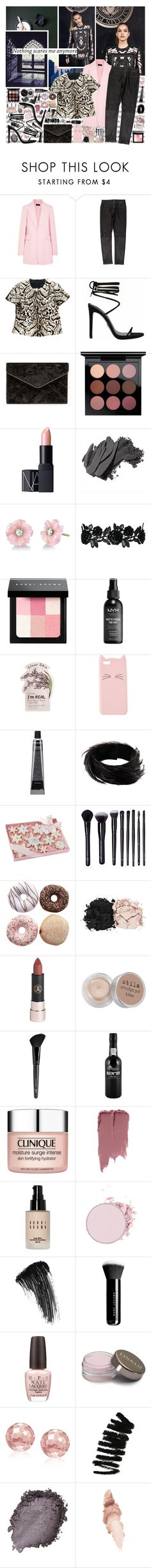 """nothing"" by ezster ❤ liked on Polyvore featuring Joseph, rag & bone, Christopher Kane, Rebecca Minkoff, MAC Cosmetics, Bobbi Brown Cosmetics, NARS Cosmetics, Irene Neuwirth, NYX and Tony Moly"