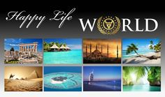 Happy Life World Make Money Online, How To Make Money, Work From Home Opportunities, Hotels, Great Videos, Affiliate Marketing, Happy Life, Cruise, Public