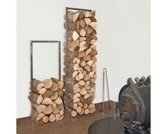 Order the firewood stand Woodtower, made by the designer Franz Maurer for the Swiss furniture manufacturer Raumgestalt in the home design shop. Firewood Stand, Firewood Holder, Firewood Storage, Storage Baskets, Storage Spaces, Small Bedroom Furniture, White Furniture, Kids Furniture, Recycled Trampoline