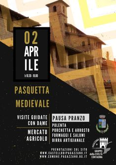 Italia Medievale: Pasquetta Medievale al Castello di Pagazzano (BG)