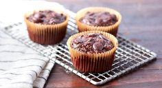 Flourless Chocolate Zucchini Muffins Recipe
