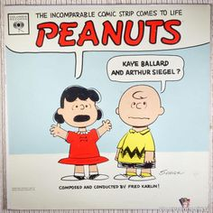 Kaye Ballard And Arthur Siegel – Peanuts