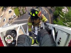 Boise Fire Academy Ladder Training - YouTube