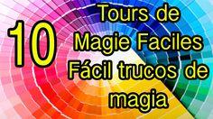 Cómo hacer trucos de magia fáciles Tours de Magie Faciles Magic Tricks, Tours, Animation, How To Make, Hat, Animation Movies, Motion Design