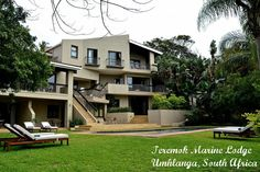 Teremok Marine Lodge in Umhlanga Rocks.  Located just outside Durban, South Africa