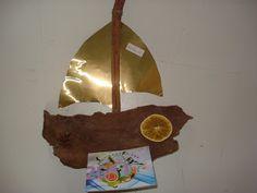 Ανεράιδα: Χριστουγεννιάτικες κατασκευές για το διαγωνισμό: ημερολόγιο-καραβάκι από τη Μαρία