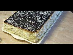 Hólabda egyszerűen. (kozáksapka) - YouTube No Bake Cake, Tiramisu, Food And Drink, Sweets, Bread, Ethnic Recipes, Cake Baking, Youtube, Kuchen
