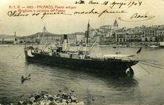 Adquisicions MMB 2015.  Port de Palamós, ca. 1908. Autor desconegut (Col. V. Sanahuja)