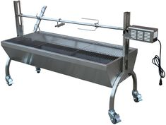 Rotisserie Grill Roaster Stainless Steel capacity BBQ charcoal pig *** Details can be found by clicking on the image. (This is an affiliate link) Best Charcoal Grill, Charcoal Bbq, Bbq Spit, Stainless Steel Griddle, Stainless Appliances, Rotisserie Grill, Grill Grates, Grill Design, Barbecue Grill