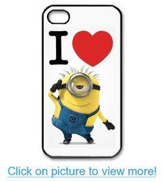Despicable Me Minion iPhone 4 4s Case Hard Plastic iPhone 4 4s Case