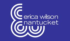 Erica Wilson Nantucket: Loved this shop and they had needlepoint kits!