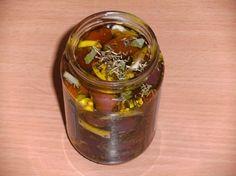 Rezept: Einlegen: Oliven, schwarz, pikant eingelegt