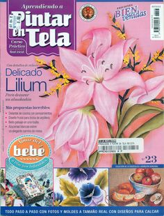 Revista Aprendiendo a Pintar en Tela Nº· 23 - Giovanna Gio - Álbumes web de Picasa