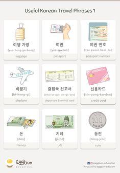 ✈️Useful Korean Travel Phrases -1