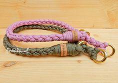 Dieses Paracord Halsband vereint Qualität und tolles Design und wird in sorgfältiger Handarbeit von mir geknüpft. Durch den Zugstoppverschluss kann das Halsband zum an- und ausziehen einfach über...