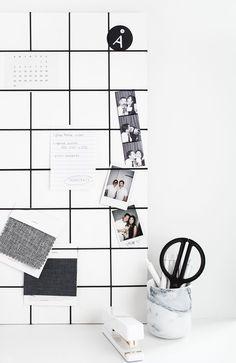 DIY- Memo Board