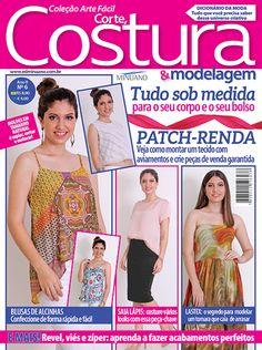 Artesanato - Tecidos - Corte Costura : COL ARTE FACIL CORTE COSTURA E MODELAGEM 006 - Editora Minuano