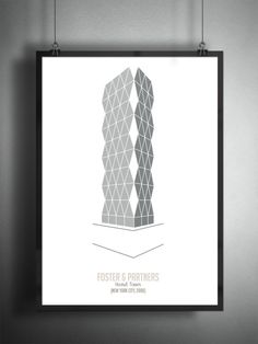 Archiposters Feature Minimalist Representations of Contemporary Architecture,Eden Project / Nicholas Grimshaw, 2001. Image © Francesco Ravasio