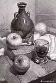Still Life Sketch, Still Life Drawing, Composition Drawing, Fruits Drawing, Object Drawing, Bullet Journal Writing, Chiaroscuro, Fashion Face, Pencil Drawings