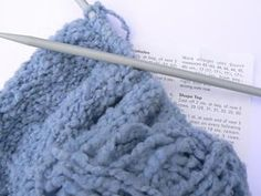 How to Knit a Blanket