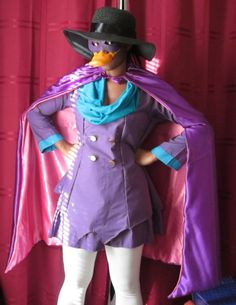 Darkwing Duck costume: this is SO happening next year!