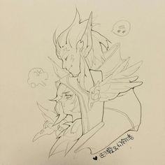 League of Legends Rakan and Xayah