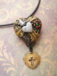 Steampunk Heart 14  the Shrine by mariesegal on Etsy, $15.49