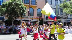 Tambores de Colombia performing at what many have hailed as the greatest multicultural parade on the planet, Carnaval San Francisco 2014!