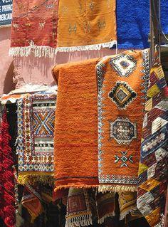 Rug merchants, Marrakech