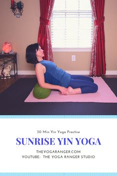 Join me for this beautiful morning Yin Yoga practice...