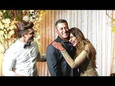 Salman Khan at Bipasha Basu & Karan Singh Grover's Wedding Reception.