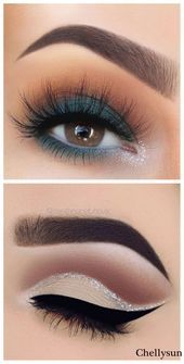 Makeup Tutorial Step By Step, Makeup Tutorial For Beginners, Eye Tutorial, Make Up Ideas Step By Step, Easy Make Up Ideas, Photo Tutorial, Latest Makeup Trends, Beauty Make-up, Beauty Tips