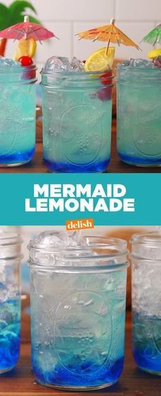 When life's a beach, make Mermaid Lemonade. Get this summer beverage recipe at Delish.com.