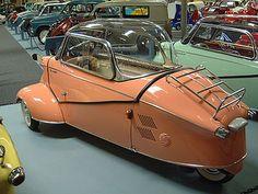 1960 Messerschmitt KR-200, streamlined aerodynamic sleek subcompact bubble retro futuristic cool