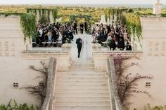 A Dazzling Destination Wedding: Isabel Roth's Celebration in Puglia, Italy