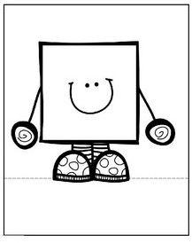 Preschool Worksheets, Preschool Learning, Teaching, Basic Shapes, Math Skills, Pre School, Snoopy, Science, Activities