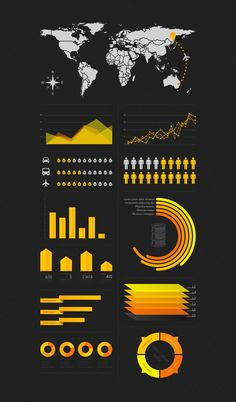 This post features a collection of free infographic design kits that could help you creating your own presentation. Interactive Infographic, Infographic Examples, Creative Infographic, Free Infographic, Infographic Templates, Resume Templates, Game Design, Website Templates, Gui Interface