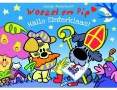 Woezel en Pip Hallo Sinterklaasboek