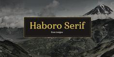Font dňa – Haboro Serif